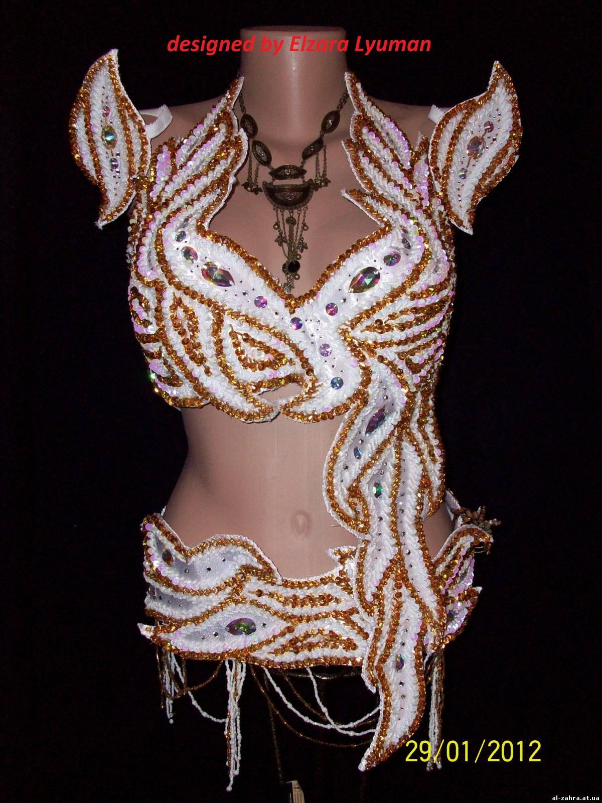 Как сшить костюм для танцев живота своими руками 67